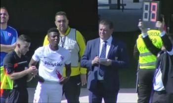 El mexicano, Joao Maleck, debuta con el Sevilla en Segunda División B