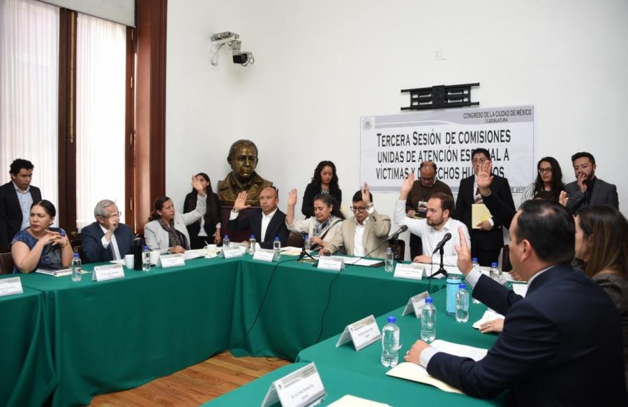 Continúa el proceso de auscultación de aspirantes a la Comisión de Atención a Víctimas