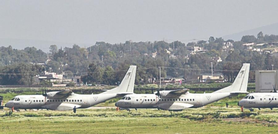 Van a operar militares terminal de Santa Lucía