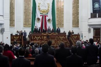 Congreso de la CDMX recibe minuta para la creación de la Guardia Nacional