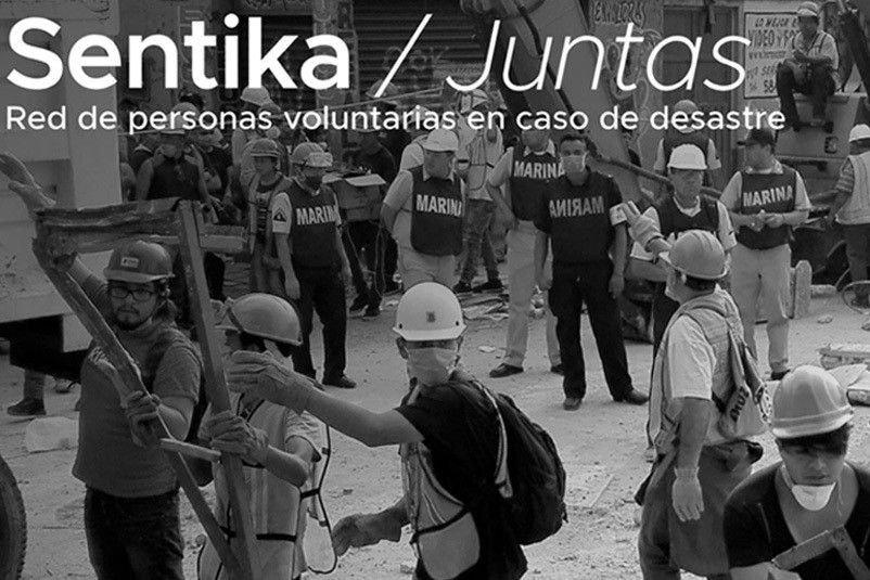 Hay nueva versión de Sentika, plataforma para Red de personas voluntarias en caso de desastre