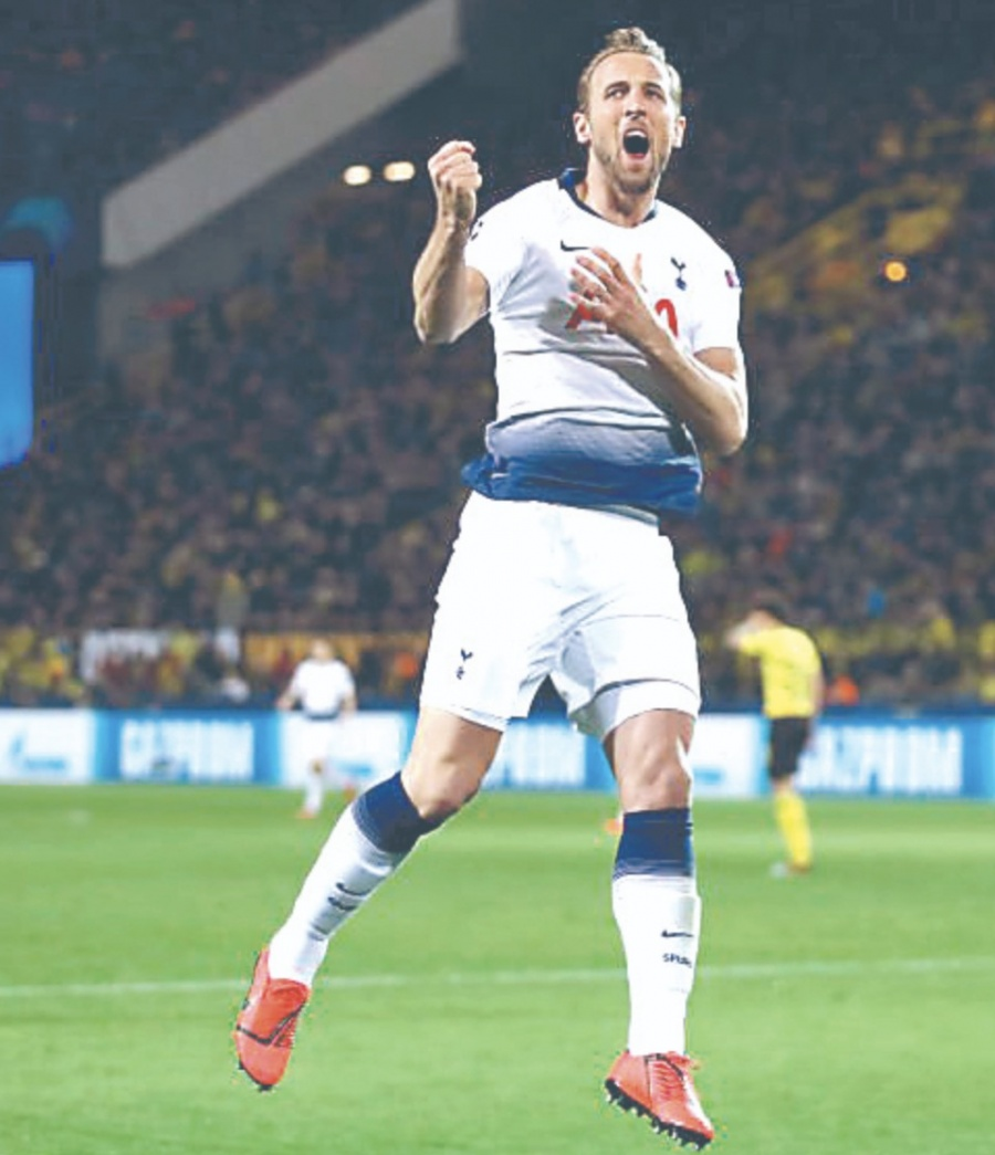 Tottenham vence al Dortmund y avanza a cuartos de Champions