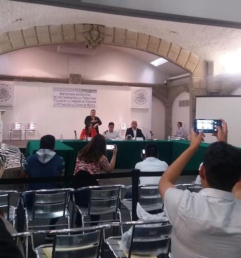 Fechas y horarios de entrevistas para la Comisión de Atención a Víctimas de CDMX