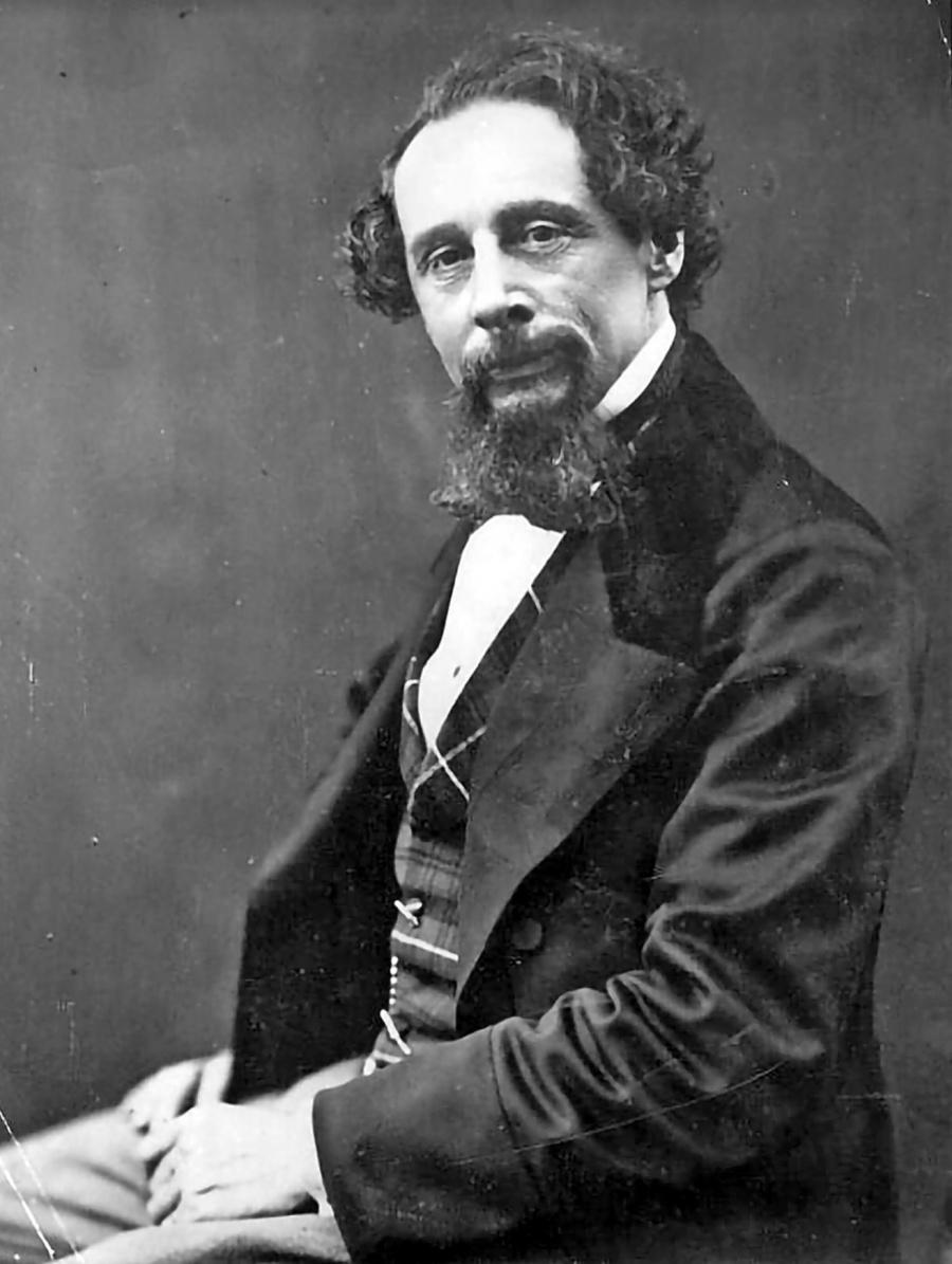 Descubren intenciones de Dickens para internar en psiquiátrico a su esposa
