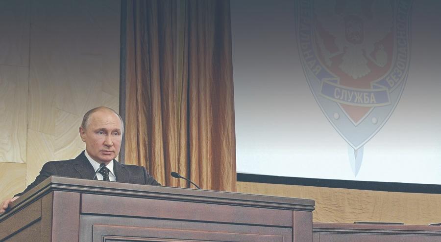 Putin atrapa a 590 espías