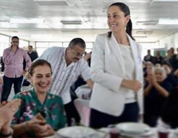 Sheinbaum conmemora Día Internacional de la Mujer en penal de Tepepan