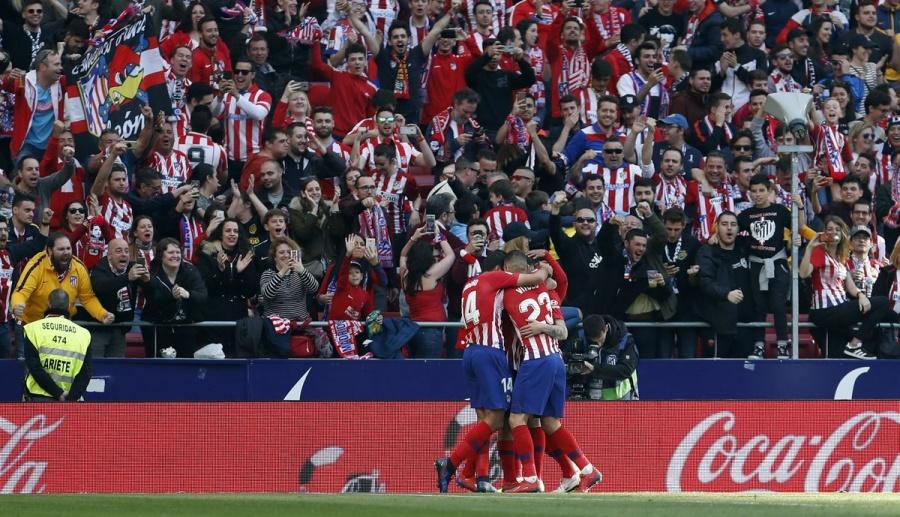 El Atlético sigue vivo en Liga, vence a Leganés 1-0