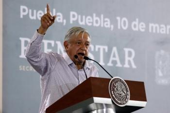 Comicios limpios en Puebla, pide AMLO: quien cometa delitos irá a la cárcel