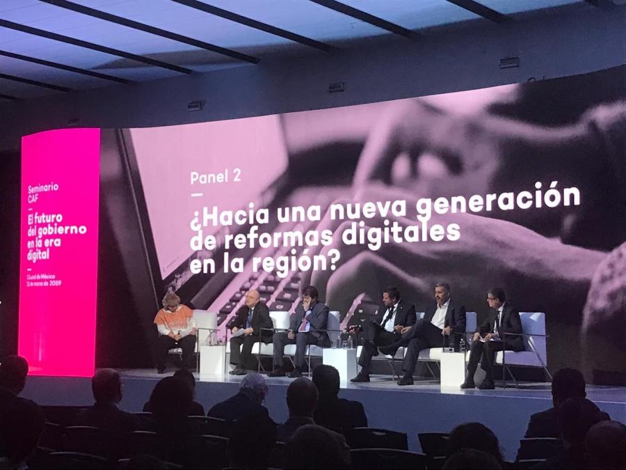 América latina, unida con un Gobierno Digital a favor de su desarrollo