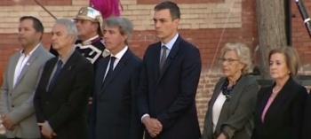 Pedro Sánchez encabeza conmemoración de atentados en Madrid