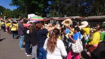 Más de 12 mil peregrinos de la Diócesis de Tenancingo 2019 llegan a Cuajimalpa