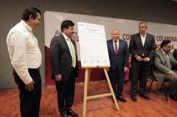 GAM y municipios de Edomex, acuerdan trabajar en favor de la seguridad