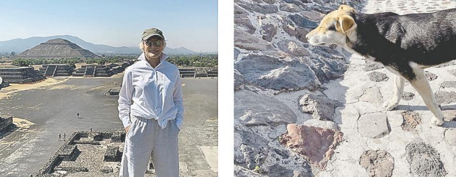 Glen Close presume su visita a Teotihuacán