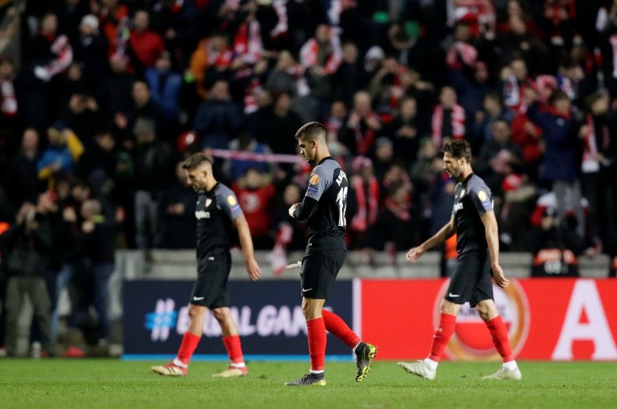 Slavia Praga consuma la eliminación del Sevilla