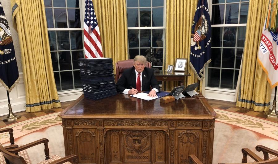 """No pasó la declaratoria de """"emergencia nacional"""" de Trump"""