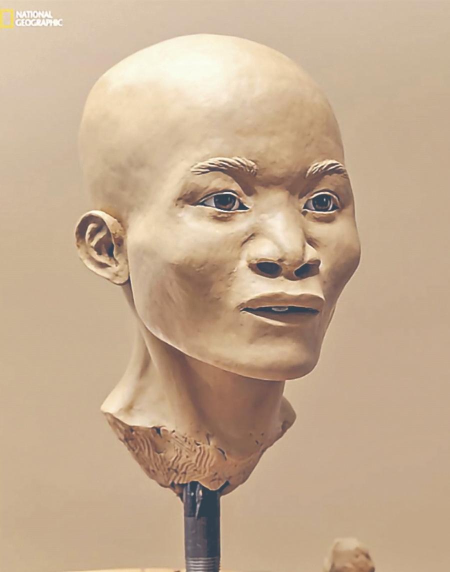 NAIA, el fósil más antiguo de Al Era una Madre Maltratada