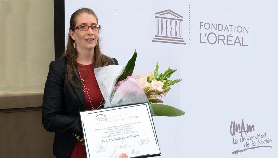 Ana Sofía Varela Gasque una de las científicas más prometedoras del mundo de acuerdo con la UNESCO