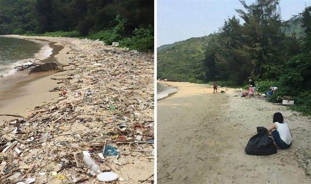 #TrashtagChallenge el desafío viral que propone limpiar el planeta