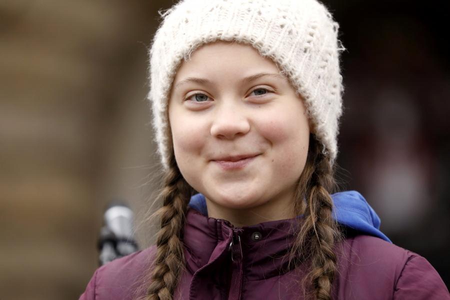 Candidata al Nobel de la Paz, falta a clase para protestar contra el cambio climático