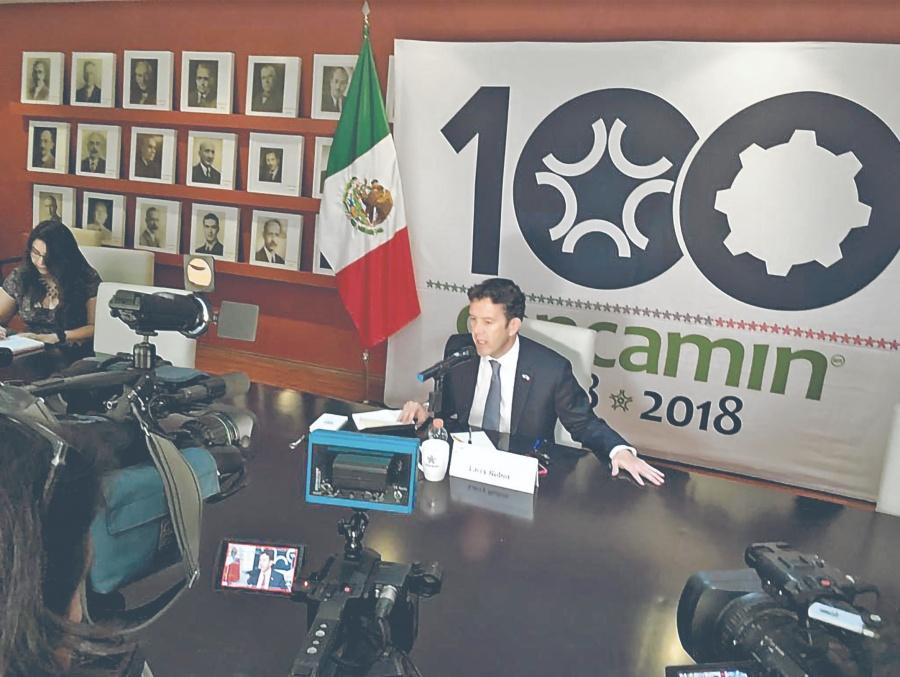 """Rubin: """"balance positivo entre EU y México"""""""