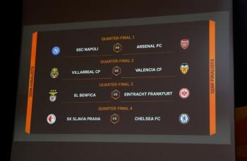Definen los cuartos de final de la Europa League
