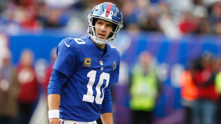 Eli Manning permanecerá con los Gigantes de Nueva York