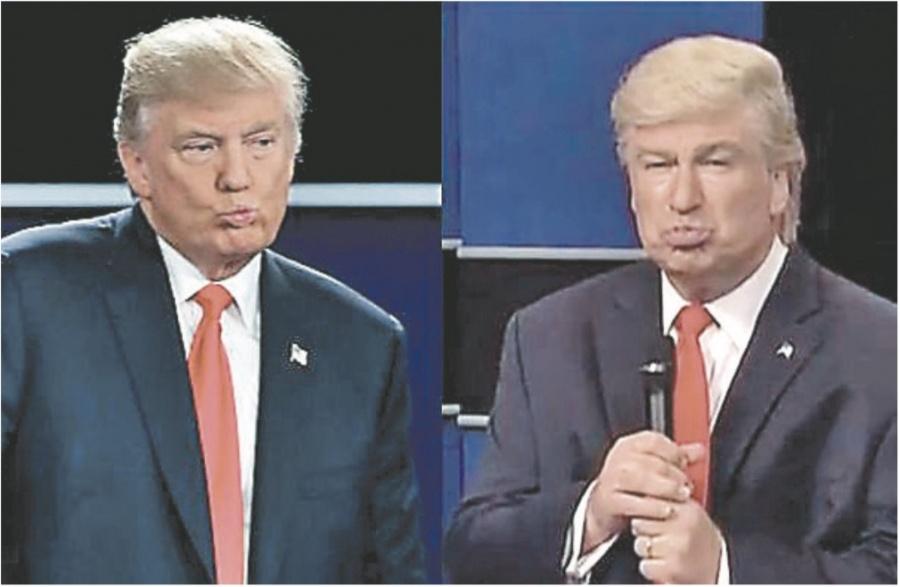 Trump solicita investigar a comediantes que lo imitan
