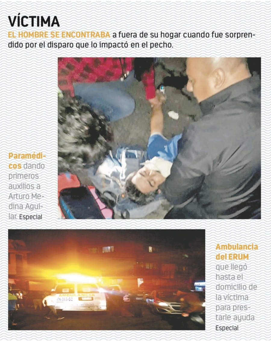 Tiros al aire de policías asesinan a un hombre