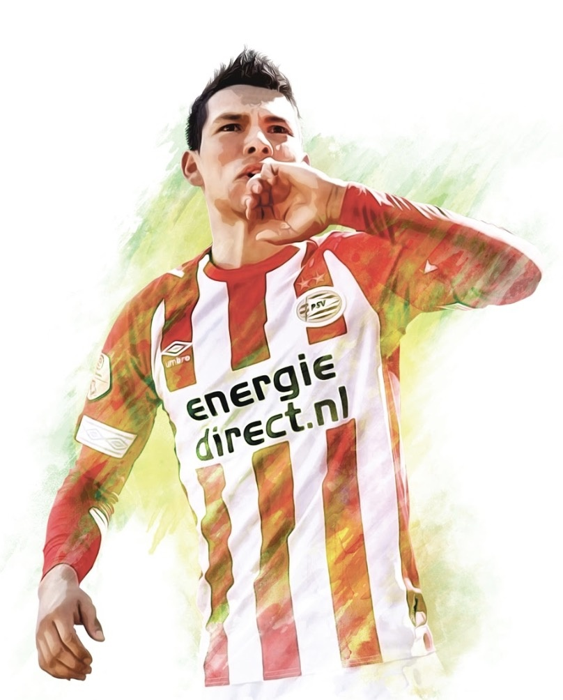 Chucky compite a grandes del gol en Liga Holandesa