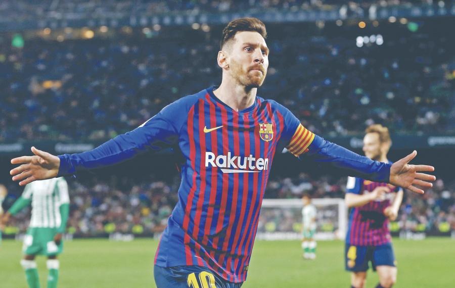 Messi sentencia al Betis con Hat-Trick