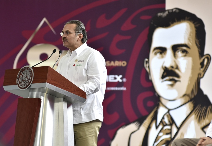 Combate a la corrupción, logró estabilizar finanzas de Pemex: Octavio Romero