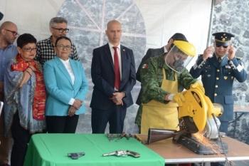 "Destacan avances del programa ""Si al Desarme, si a la Paz"" en CDMX"