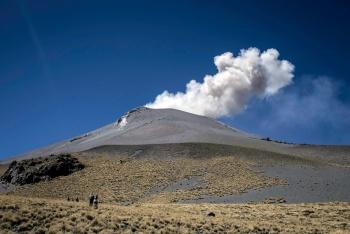 Popocatépetl registra 43 exhalaciones en las últimas 24 horas