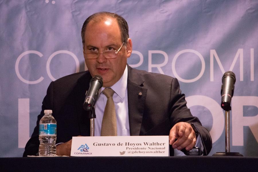 Señala Coparmex que gobierno podría crear nuevos impuestos