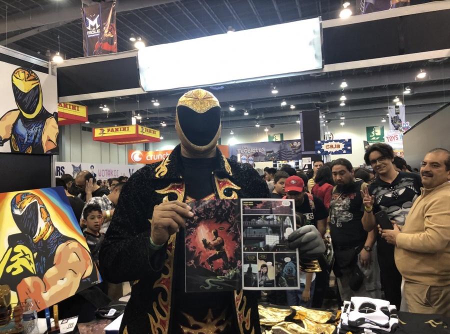 Marvel quiere a Tinieblas Jr. como un Superhéroe