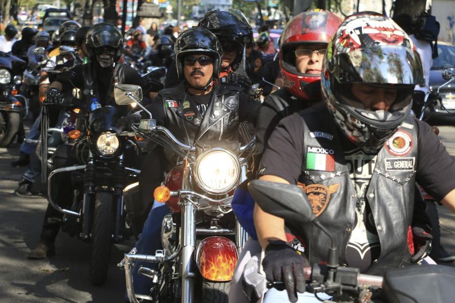 SSC-CDMX revisará a motociclistas por alza de delitos