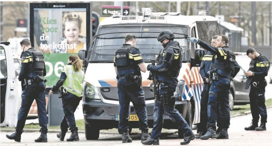 Tiroteo en Holanda deja tres muertos