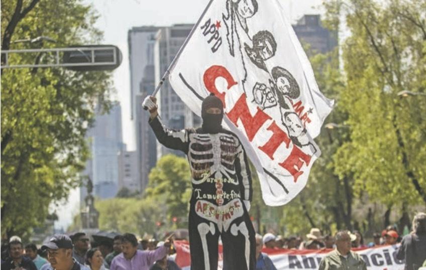 CNTE ve fascismo en el Presidente