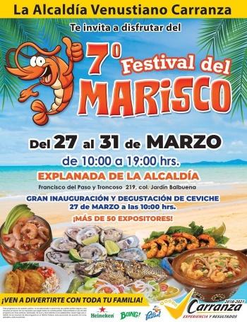 La alcaldía Venustiano Carranza está lista para el 7º Festival del Marisco