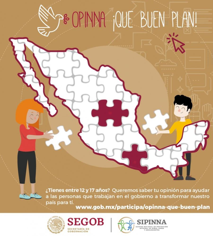 """""""Opinna ¡que buen plan!"""" para formar el Plan Nacional de Desarrollo"""