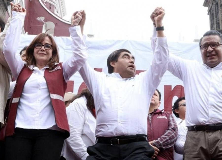 ...Y Barbosa se registra hoy como candidato ante el INE