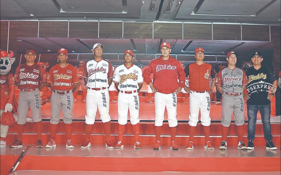Diablos presenta 5 uniformes para estrenar en nuevo estadio
