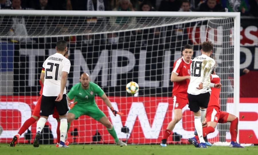 Alemania y Serbia empatan en la Fecha FIFA