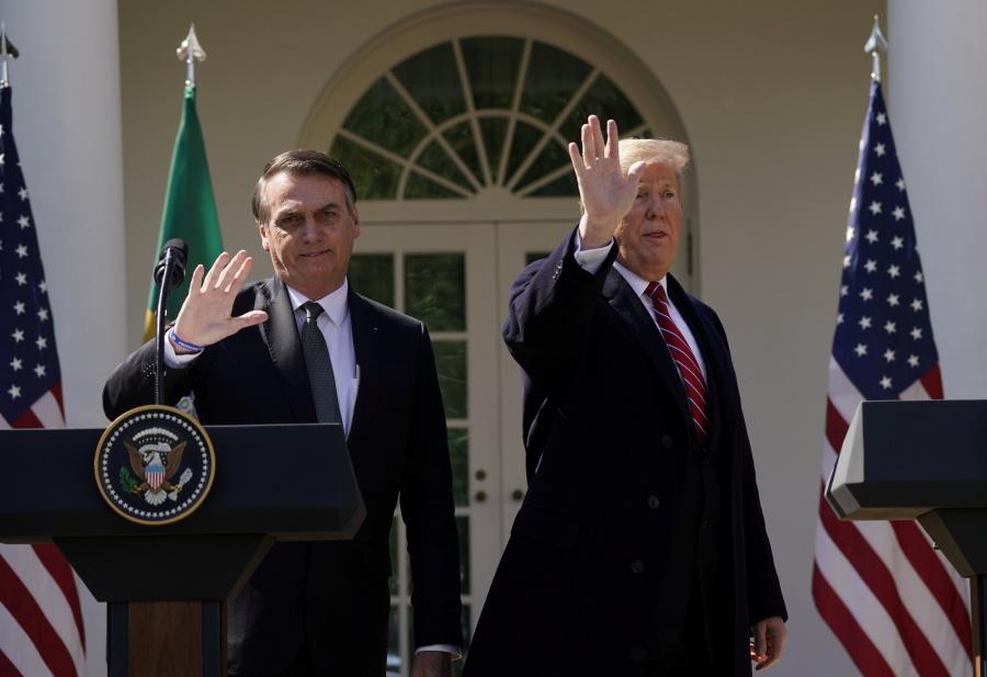Trump y Bolsonaro hacen