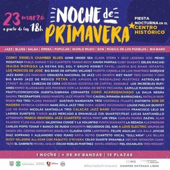 El Gobierno capitalino trae de nuevo el Festival de Primavera