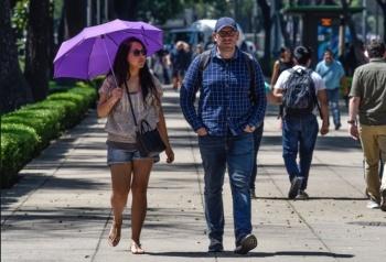 Se registra alta radiación solar en el Valle de México