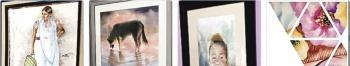 En 40 acuarelas, artistas retratan belleza y tradición de Puebla