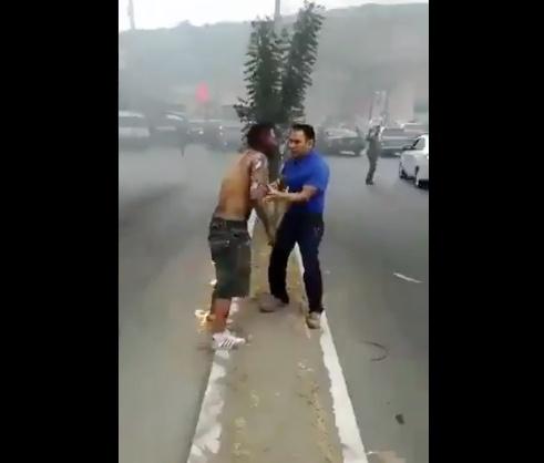 Tras disparar a taxista, queman vivos a dos sicarios en Guatemala (VIDEO)
