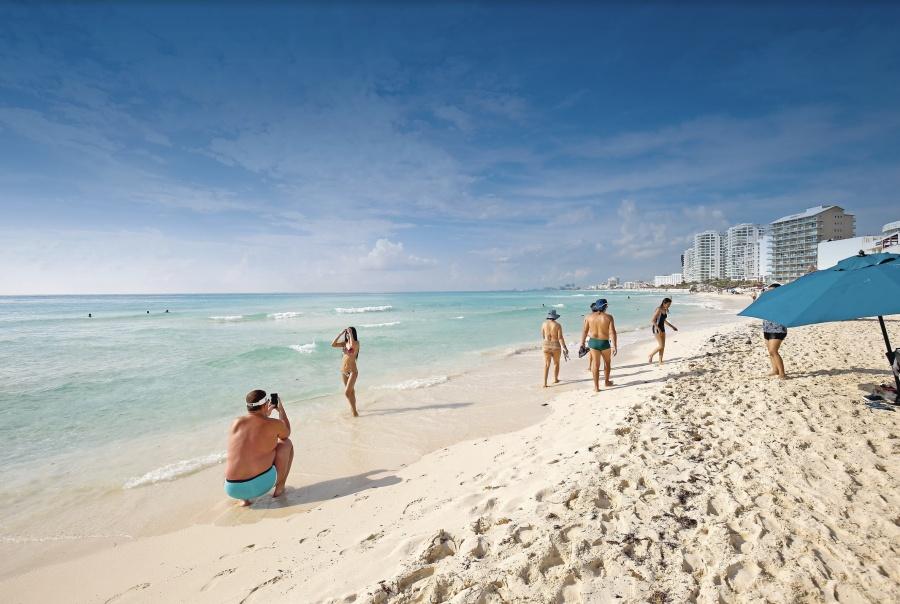 Cae 20% turismo en las playas de Cancún
