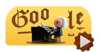 Johann Sebastian Bach protagoniza el primer doodle con Inteligencia Artificial de Google